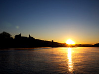 30.11.2010: Morning sun over the Akershus castle, Oslo